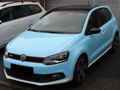 Polo GTI hellblaue Folie